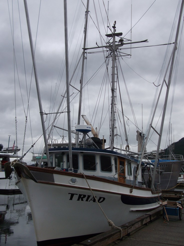Frank's fishing boat