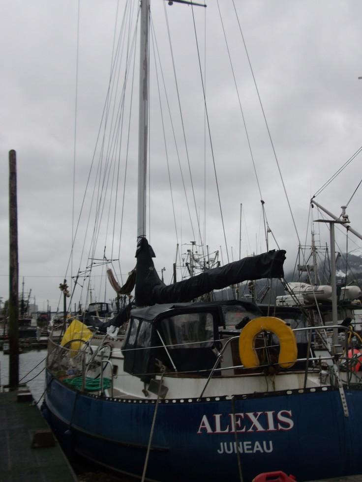 John's sail boat