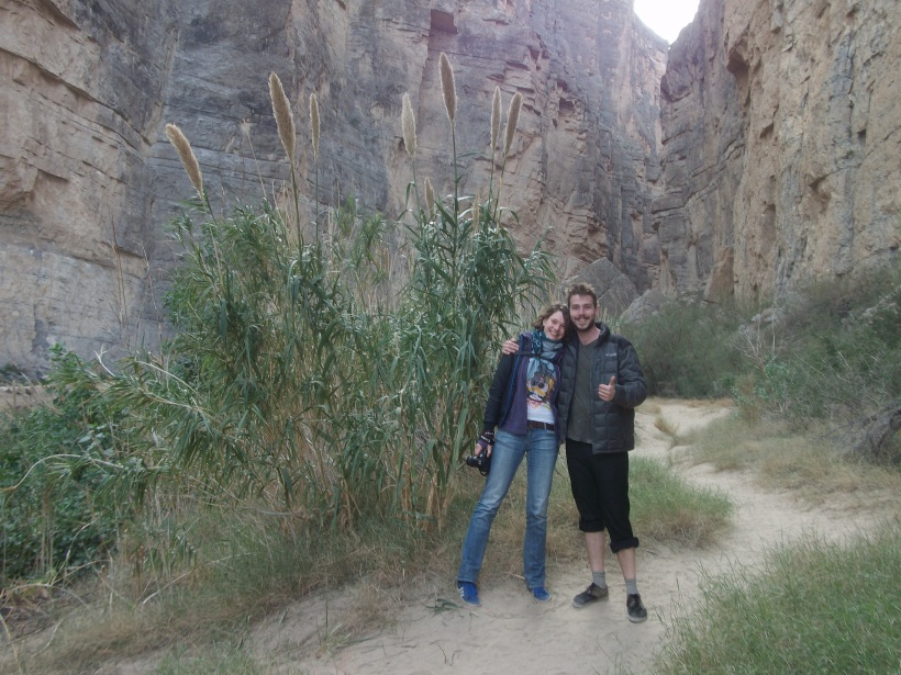 Tanja and Anton at Big Bend National Park, TX