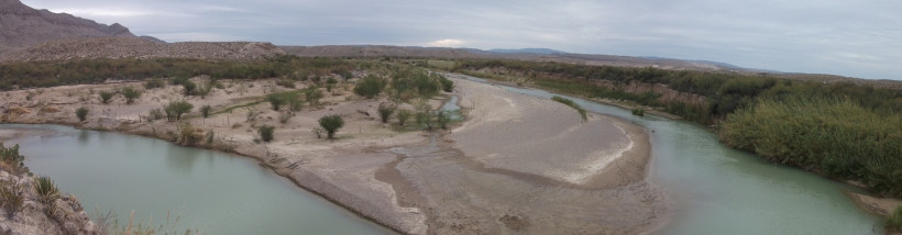 The Rio Grande, Big Bend National Park, TX