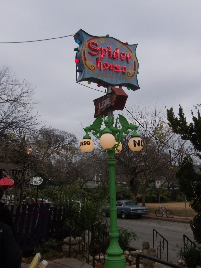 Spider House Cafe, Austin, TX