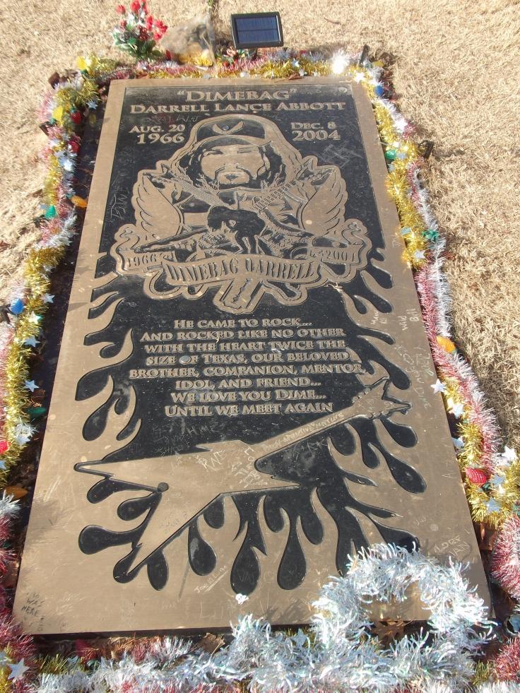 Dimebag's Grave, Arlington, TX