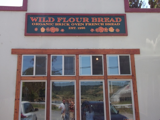 Super delicious homemade bread is baked here, Freestone, CA.