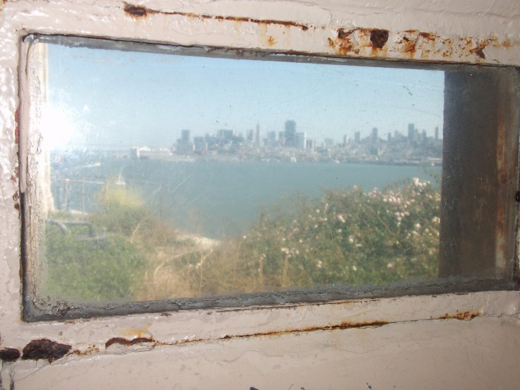 A view from Alcatraz Island.