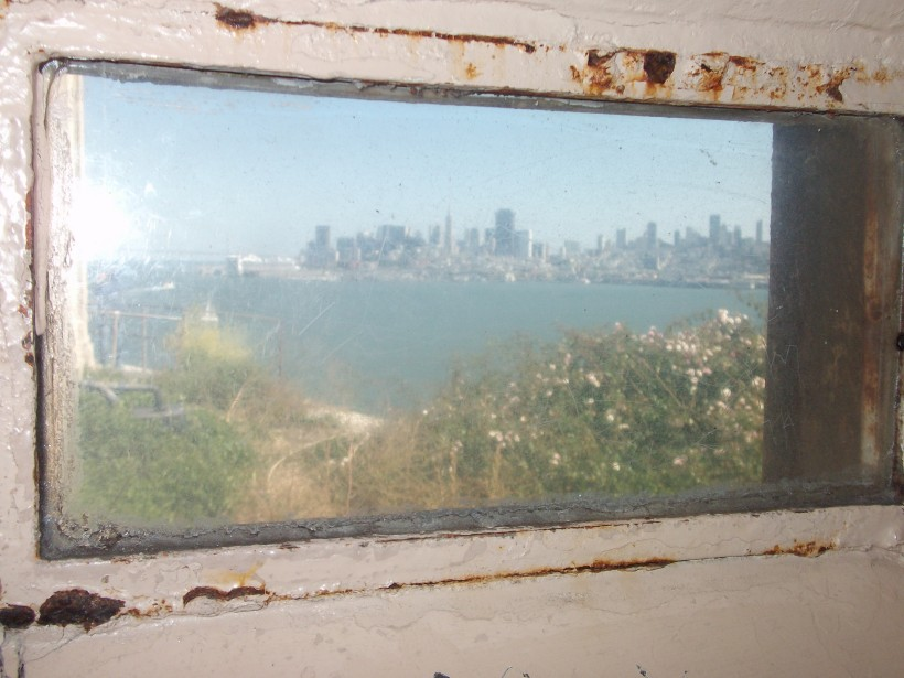 A view from Alcatraz Island.