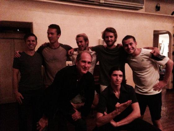 Back row- Jacob, Colin, Baylor, Me, and Kasey. Front- Ganga and Phil