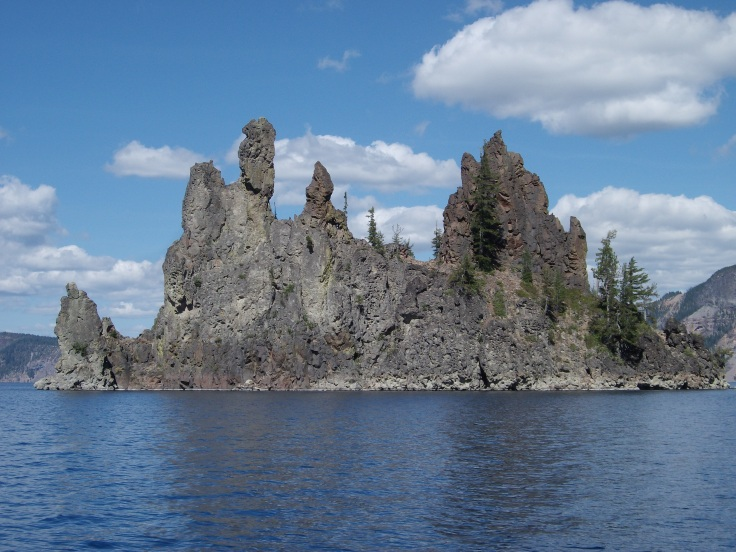 """The Pirate Ship""- Crater Lake"