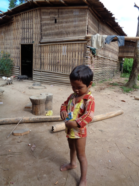 A child from our homestay.