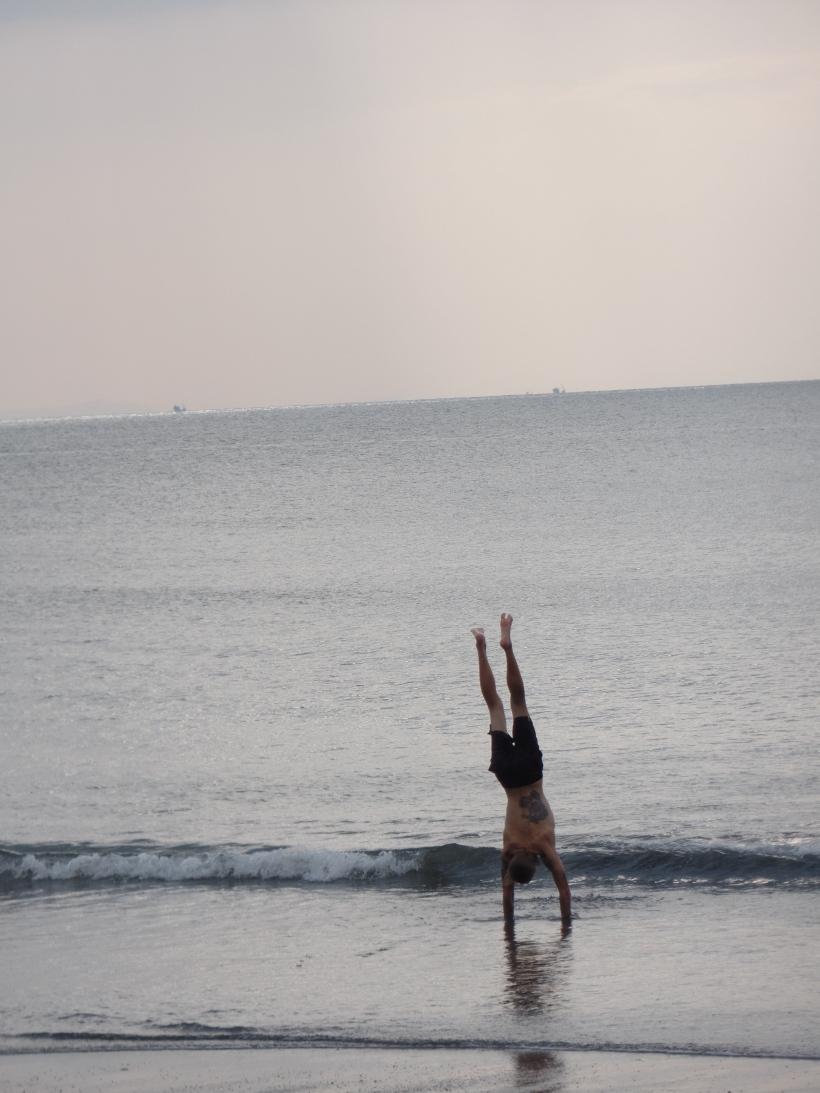 Being free.