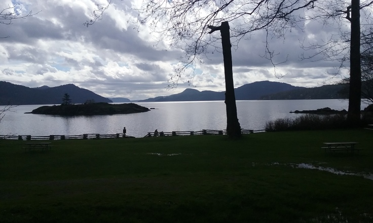 A view from Eastsound, Orcas Island