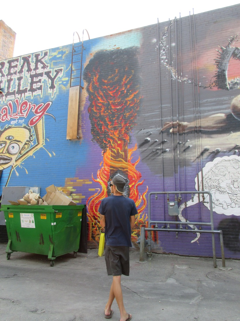 Freak Alley, Boise, ID