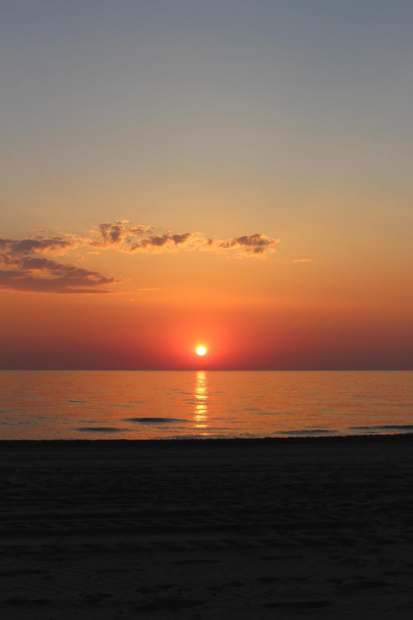 Sunrise over the Mediterranean